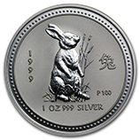 Perth Mint Silver (1999 Rabbit Coins) (Series 1)
